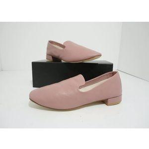 Repetto Daren Pink Low Heel Slip On Loafers Shoes